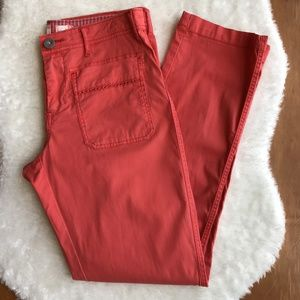 Anthropologie Hei Hei Coral Pant Size 4